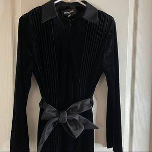 VINTAGE Fleurette NY velvet evening gown